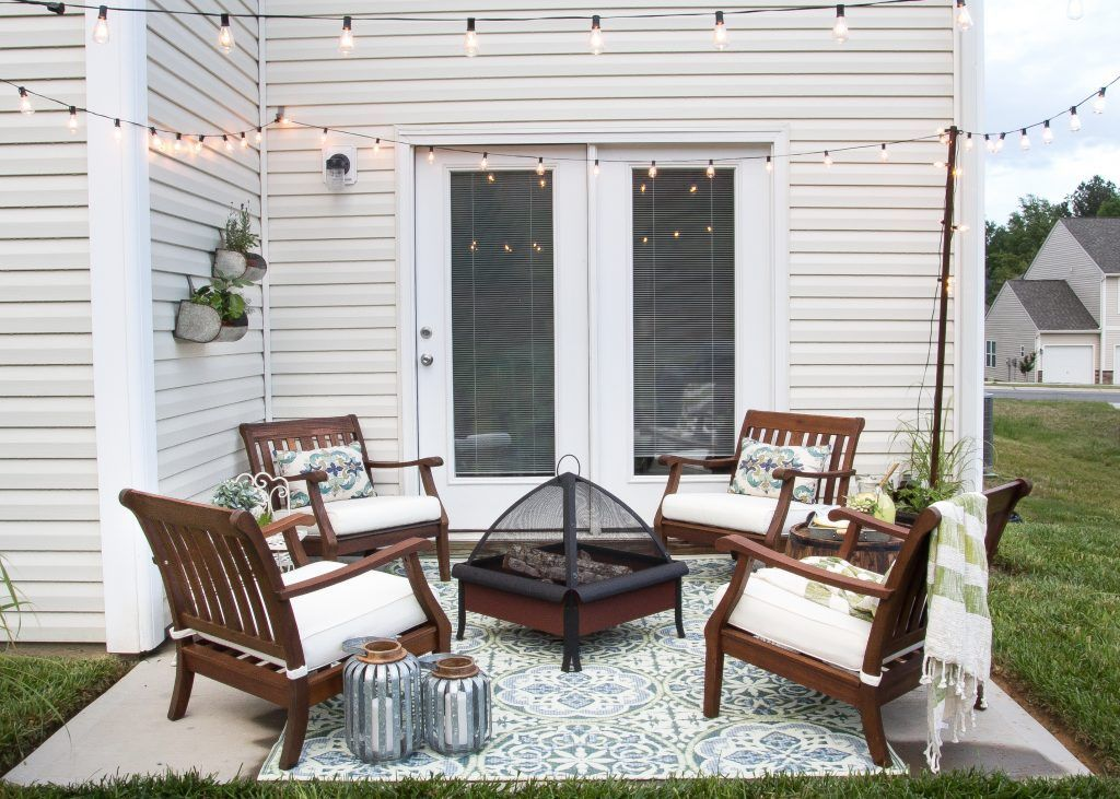 How To Decorate A Small Patio Small Patio Spaces Small