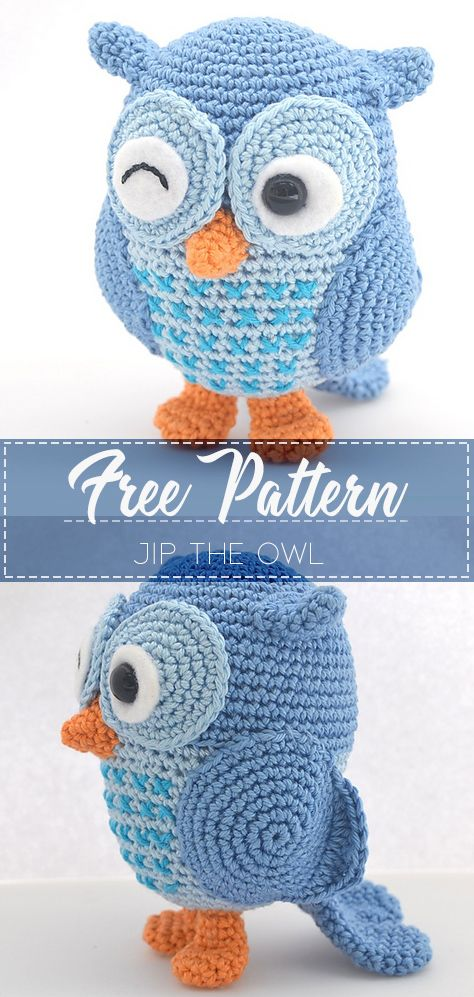 PATTERN ONLY Little owls, owl amigurumi, crochet owlpattern for ... | 997x474