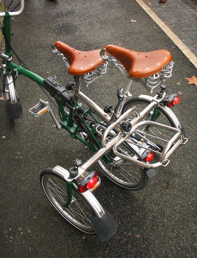 Folding Style Luxury Triquad Special Kit For Brompton Bike Stuff