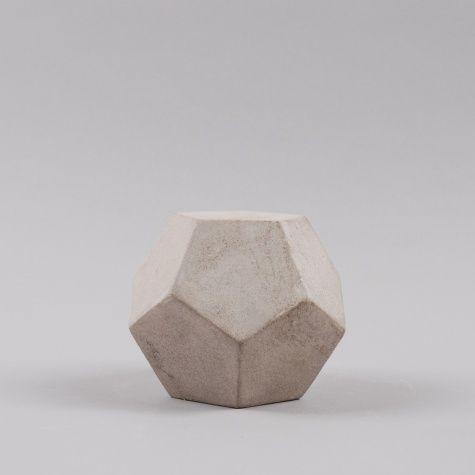 Serax Geo Shape Pentagon - Cement