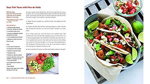 100 days of real food fast fabulous the easy and delicious way 100 days of real food new cookbook recipe easy fish tacos with pico de gallo forumfinder Image collections