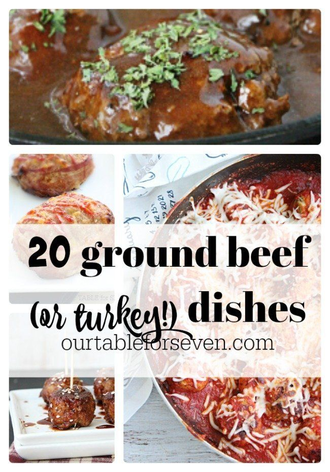 20 Ground Beef Or Turkey Dishes Part 2 In 2020 Turkey Dishes Most Popular Recipes Popular Recipes