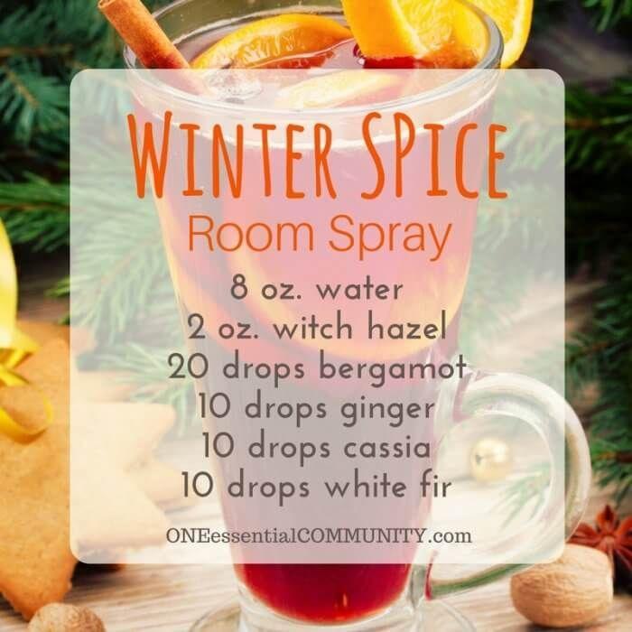 Young Living Christmas Room Spray