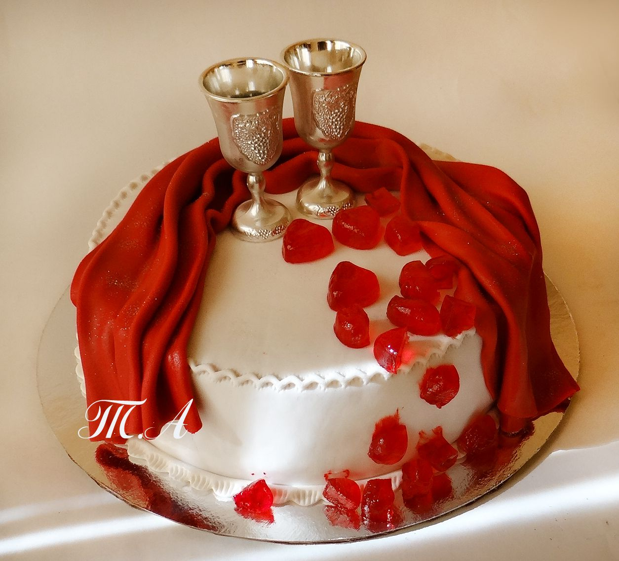 Картинки тортов с юбилеем свадьбы