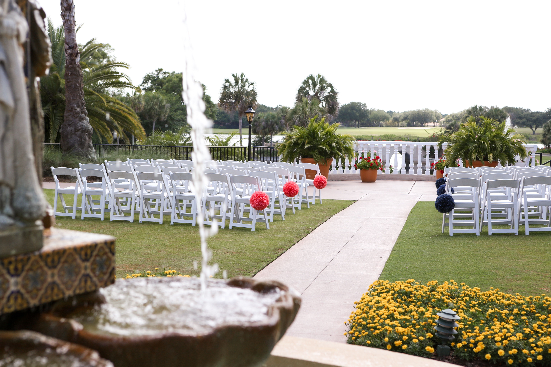 Beautiful Ceremony At Plaza De La Fontana Mission Inn Resort In Howey