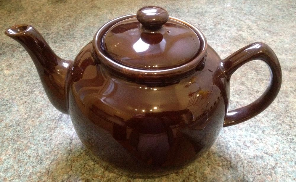 Brown Betty, our teapot