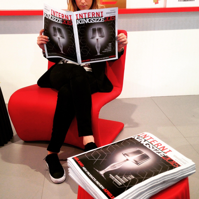 It seems like Liza, the first project by Elisa Giovannoni for Slamp, is #everywhere. #Interni #Mondadori #Kingsize