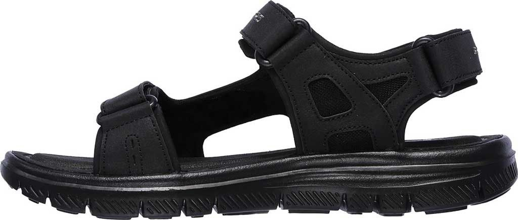 6049dd1ad1e5 Skechers Flex Advantage S Upwell Sport Sandal - Black Black 10 M (Regular)