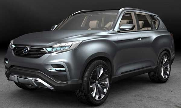 New Ssangyong Rexton 2017 Specs Price Release Date New Suv Suv Cars Car