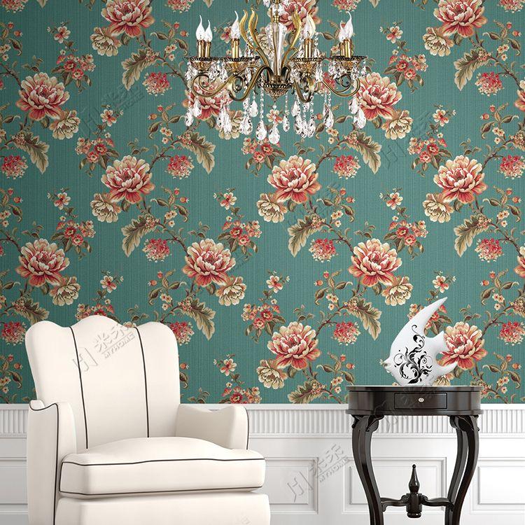 Flower Background Pvc Vinyl Decorative Washable Wallpaper Home Wallpaper Washable Wallpaper Luxury Wallpaper