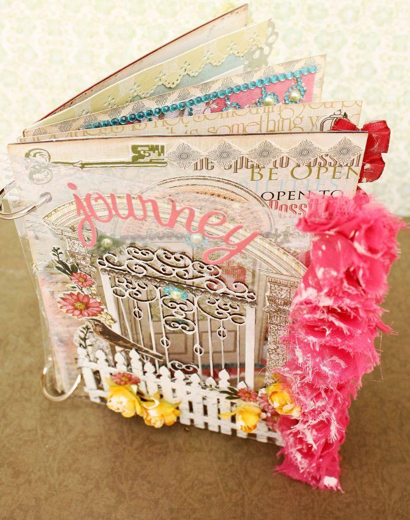 Journey scrapbook ideas - Mini Journey Cima Album Scrapbookscrapbook Layoutspapercraftpoetry