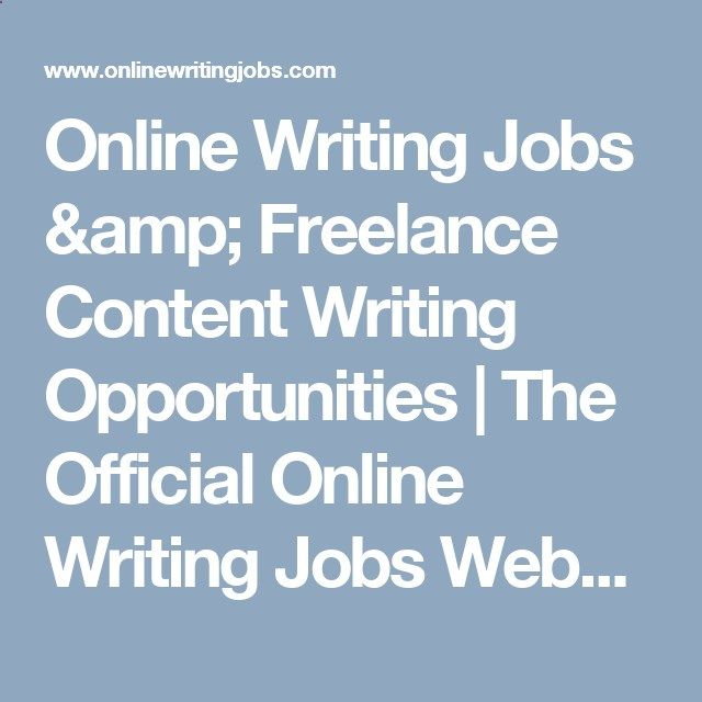 Online Writing Jobs amp; Freelance Content Writing Opportunities - guidelines freelance contract writing