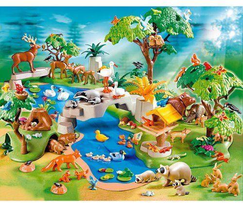 Playmobil 4095 Huge Animal Paradise 200 Piec Exclusive