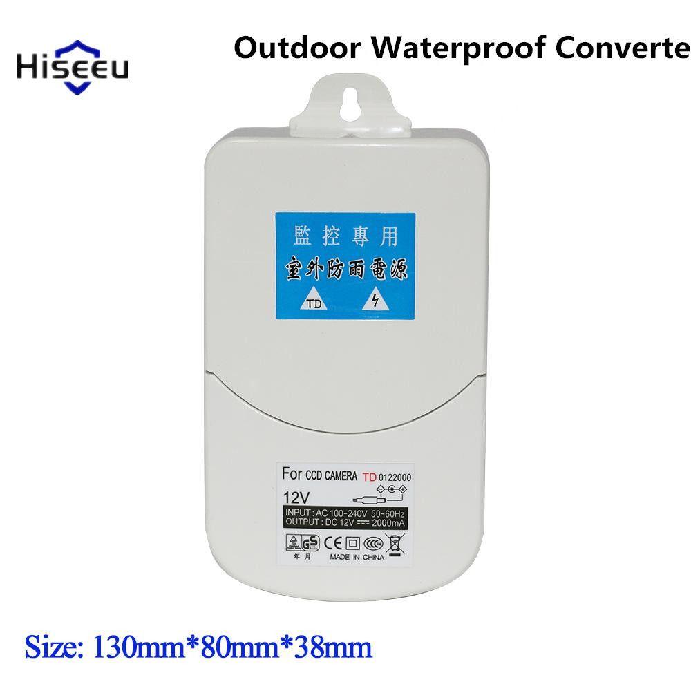 Outdoor Waterproof Converter Power Adapter Switching Supply