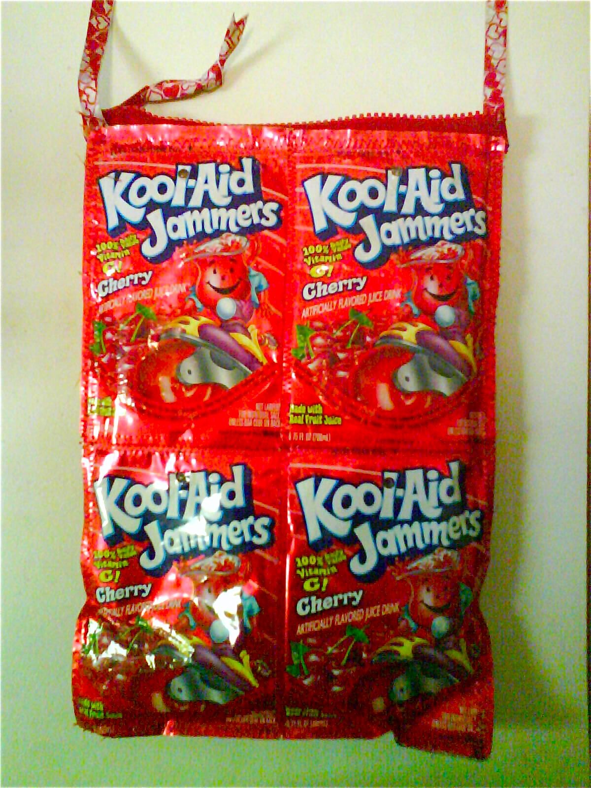 Kool Aid Jammers Purse Kool Aid Duct Tape Crafts Candy Wrappers