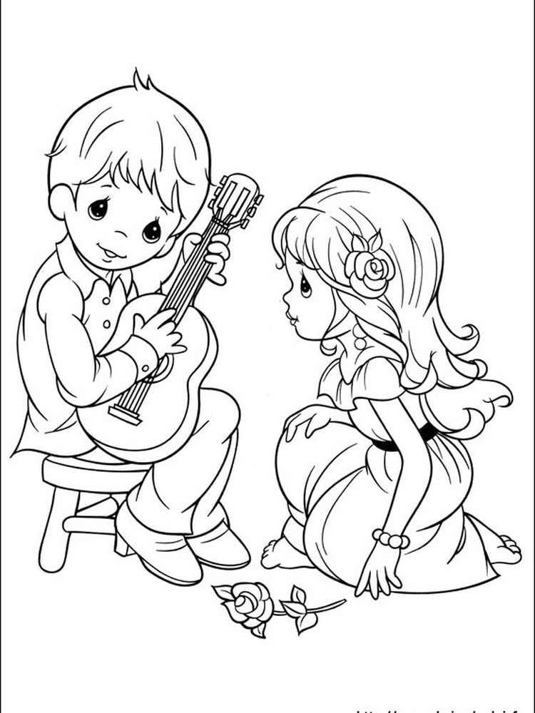 Precious Moment Coloring Pages Printable - Free Coloring ...