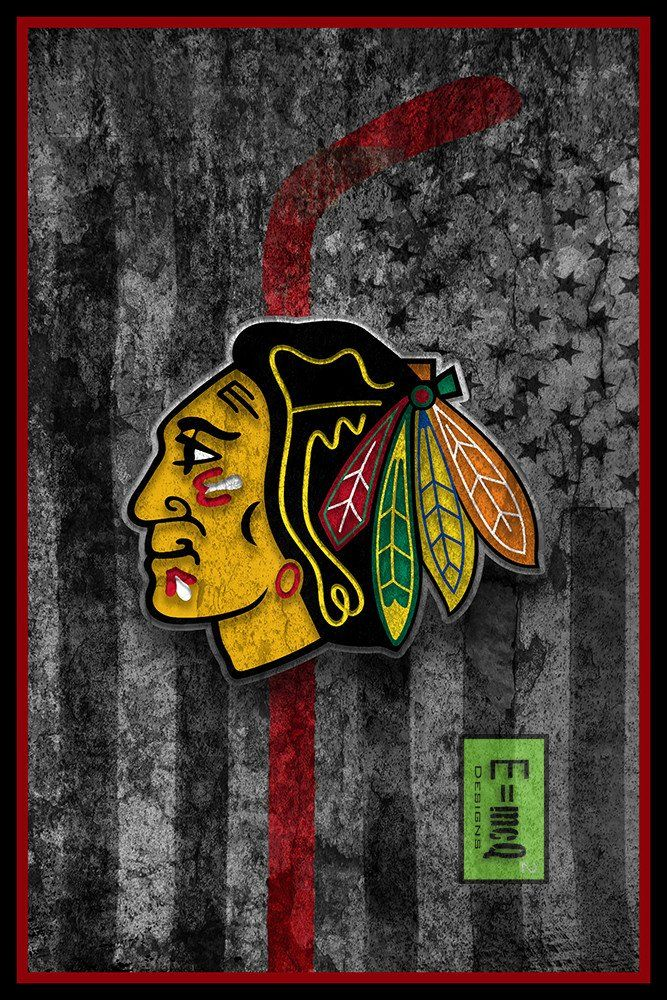 Chicago Blackhawks Hockey Flag Poster Blackhawks Flag Man Cave Gift Chicago Blackhawks Wallpaper Chicago Blackhawks Hockey Blackhawks Hockey