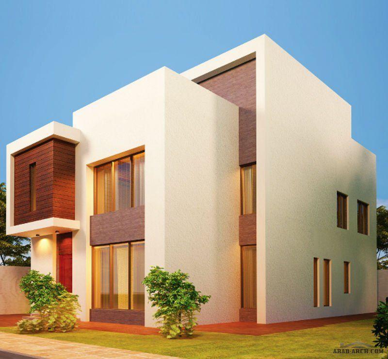 مخطط فيلا الامواج نموذج D مسطح البناء 408 متر مربع متوسط مساحة الارض 381 متر مربع Arab Arch House Layouts Modern House Plans Bungalow House Plans