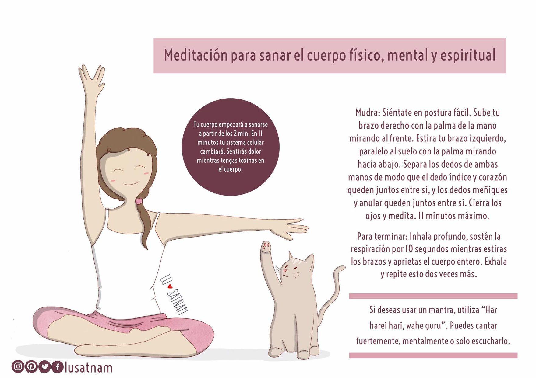 Kundalini Len meditación para sanar el cuerpo físico mental y espiritual