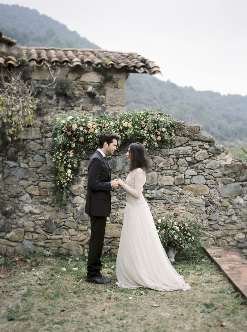 Nature wedding dress  Organic and natural wedding ideas from Spain by Mireia Cordomi  wow