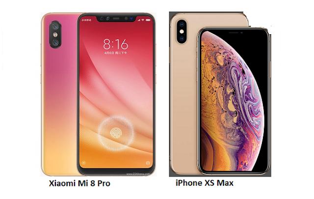 Xiaomi Mi 8 Pro Vs Apple Iphone Xs Max Iphone Apple Iphone Xiaomi