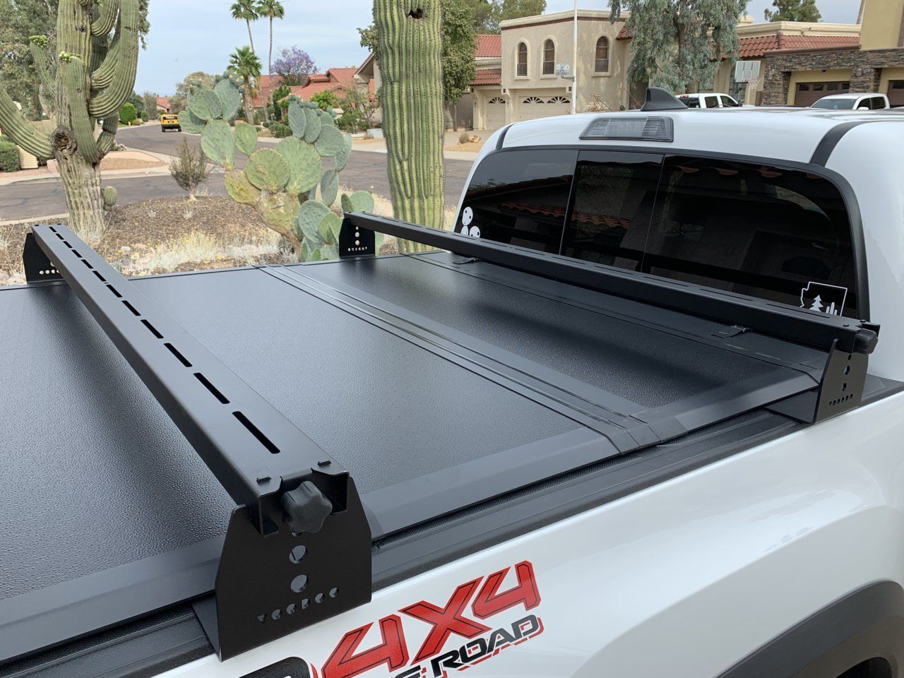 Bed Rack With Tonneau
