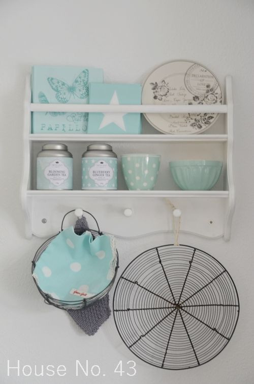 House No 43 neues in mint - new in in mint Food and kitchen - küchen wandregal landhaus