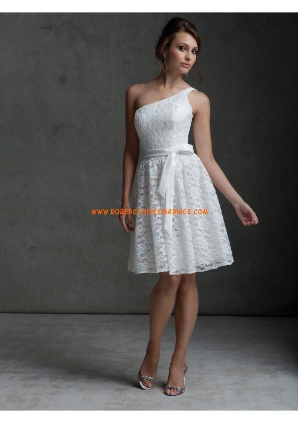 Acheter robe blanche dentelle