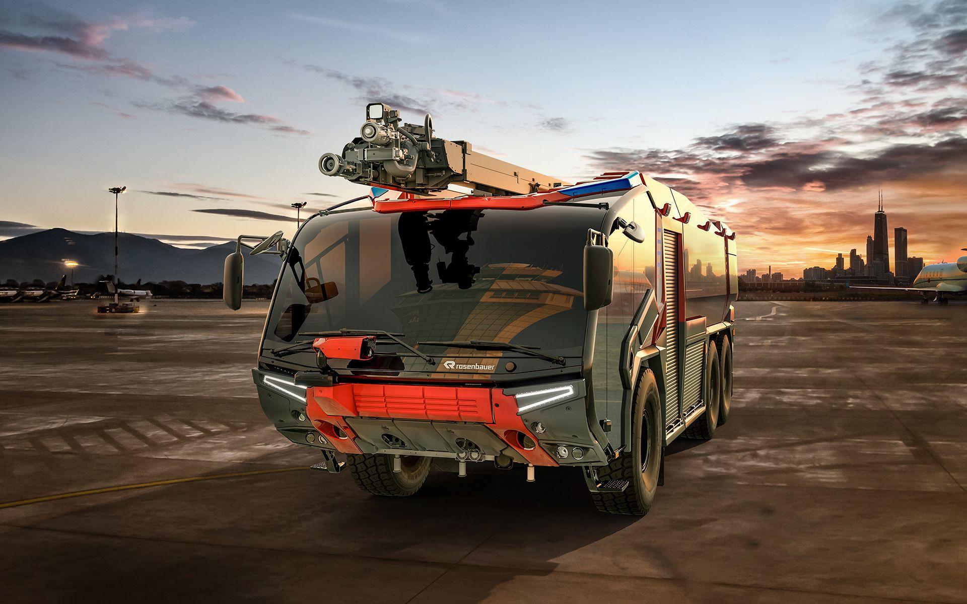 Der Neue Rosenbauer Panther Mit Bildern Feuerwehr Fahrzeuge