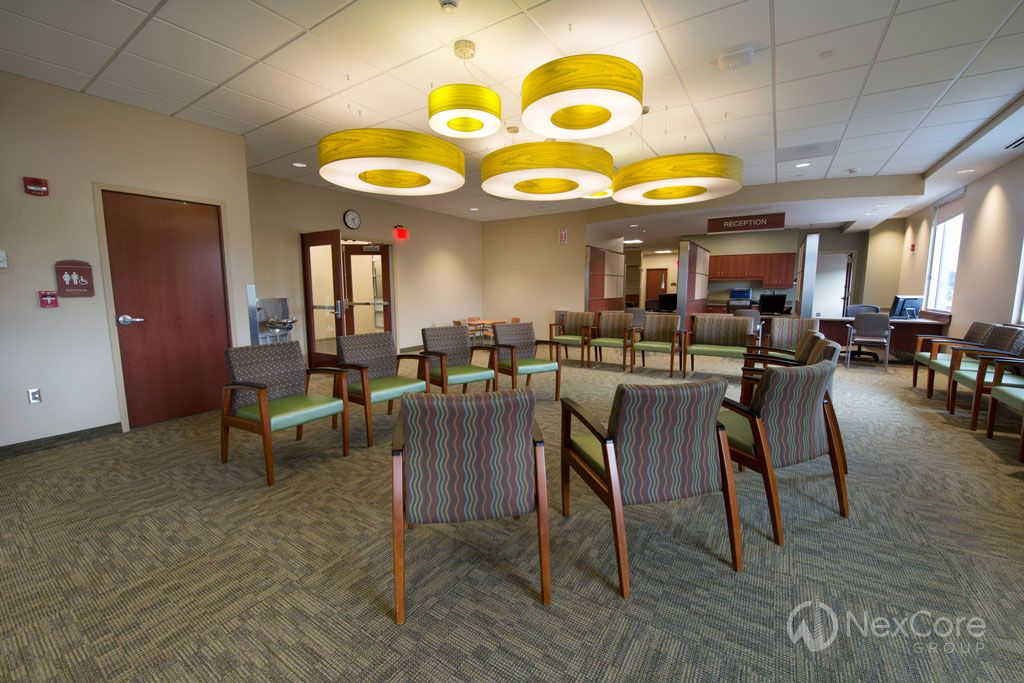 The walkin center is located on the main floor of the UHS