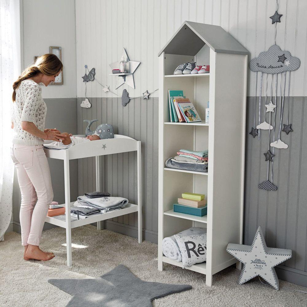 b cherregal haus aus holz b songe leo in 2019 kinderzimmer kinderzimmer ideen und. Black Bedroom Furniture Sets. Home Design Ideas
