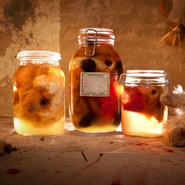 Basteln Mit Tannenzapfen Die 7 Besten Ideen Focusde: Gruselige Halloween Einmachgläser Basteln