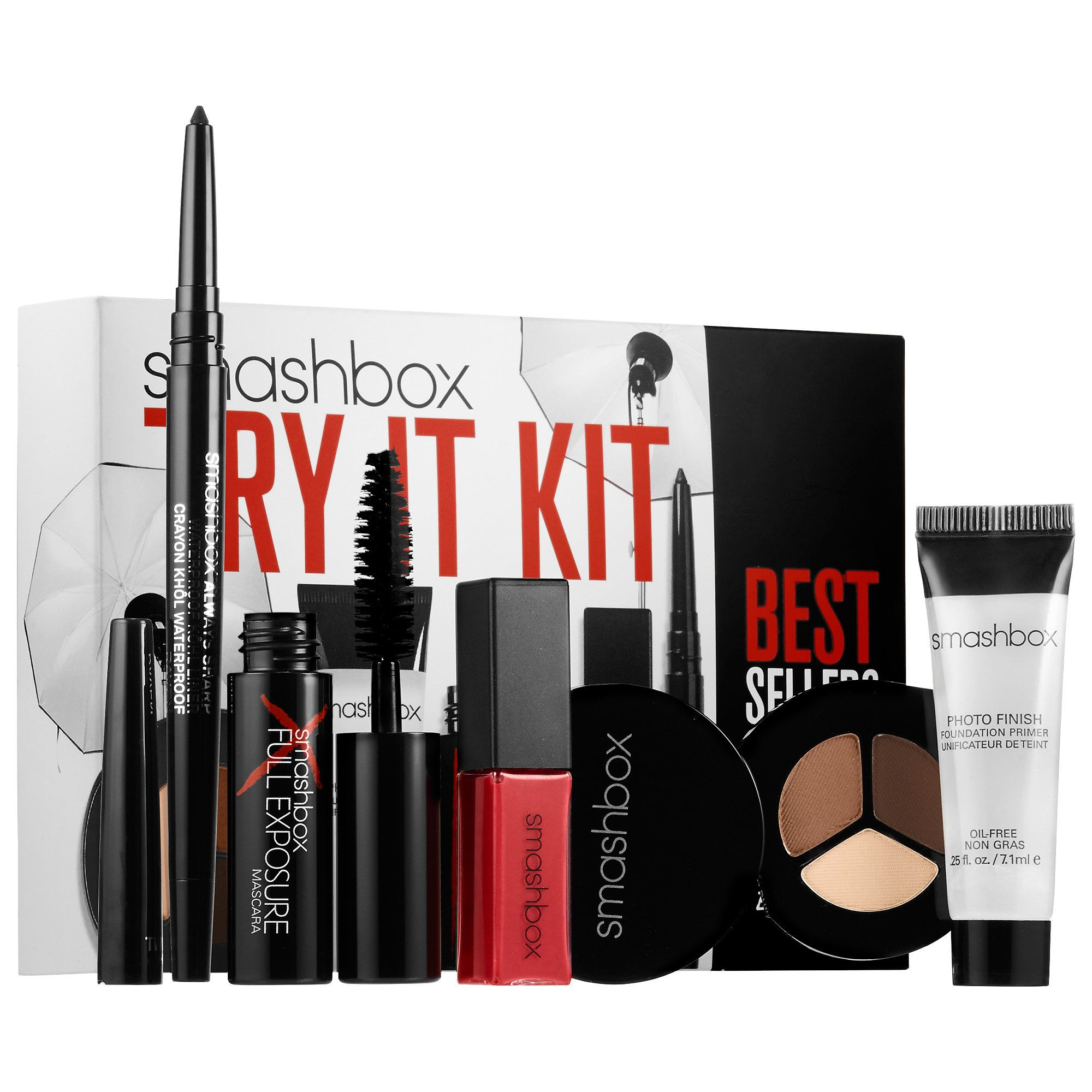 Shop Smashbox's Try it Kit Bestsellers at Sephora. . It
