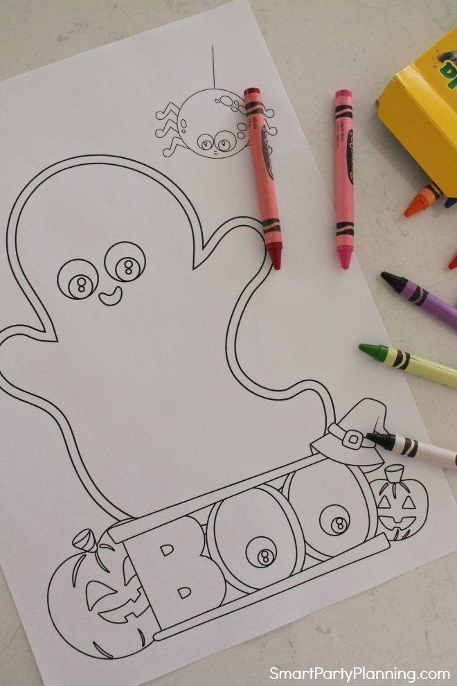 die besten kostenlosen halloweenmalvorlagen für kinder