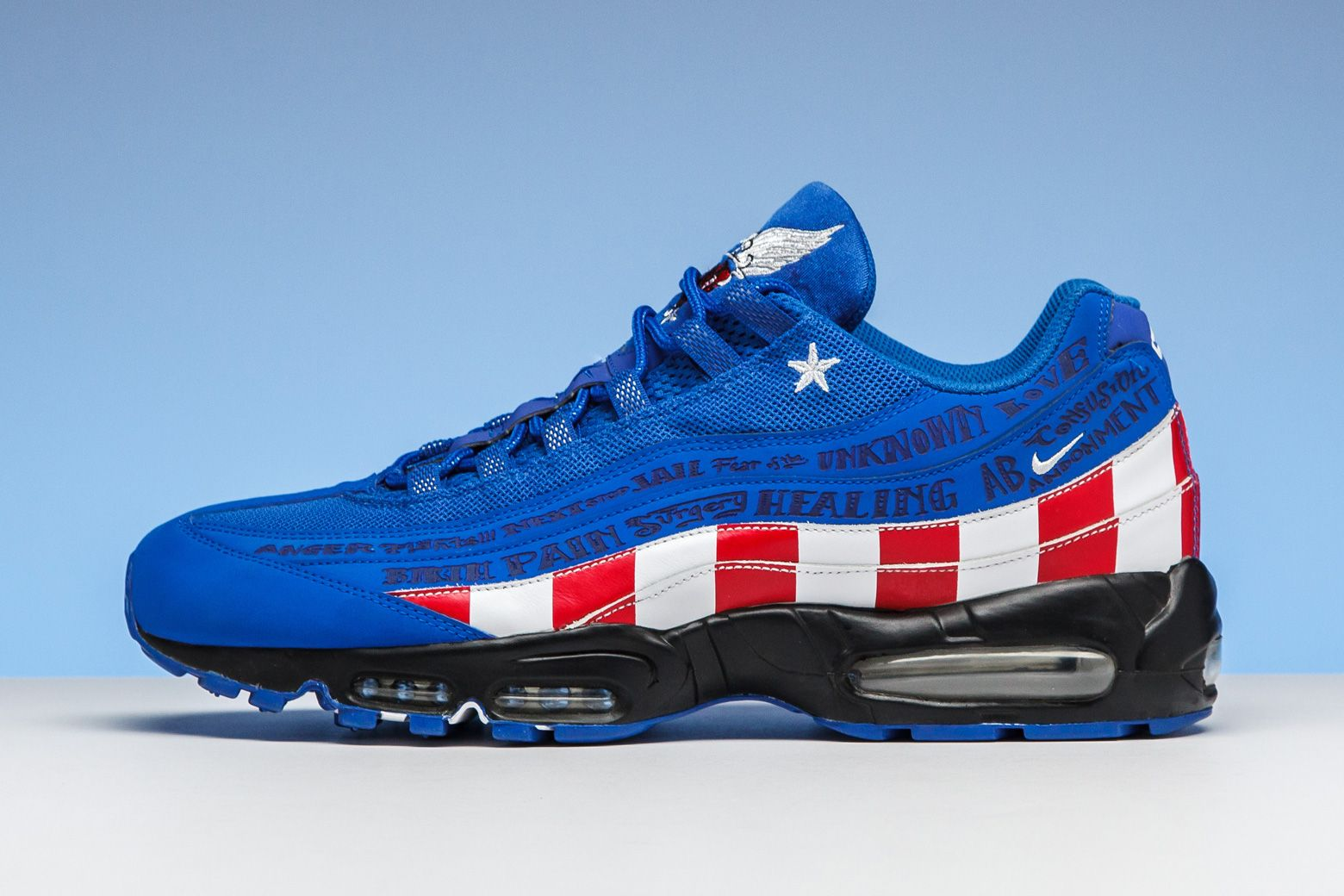 25c633c4f2 Nike re-released this Doernbecher-edition Air Max 95 in 2013 to celebrate  10 years of the charitable partnership.