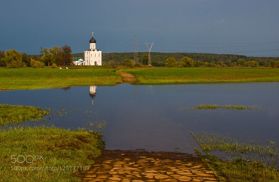 road to the church... by dsamson. Please Like http://fb.me/go4photos and Follow @go4fotos Thank You. :-)