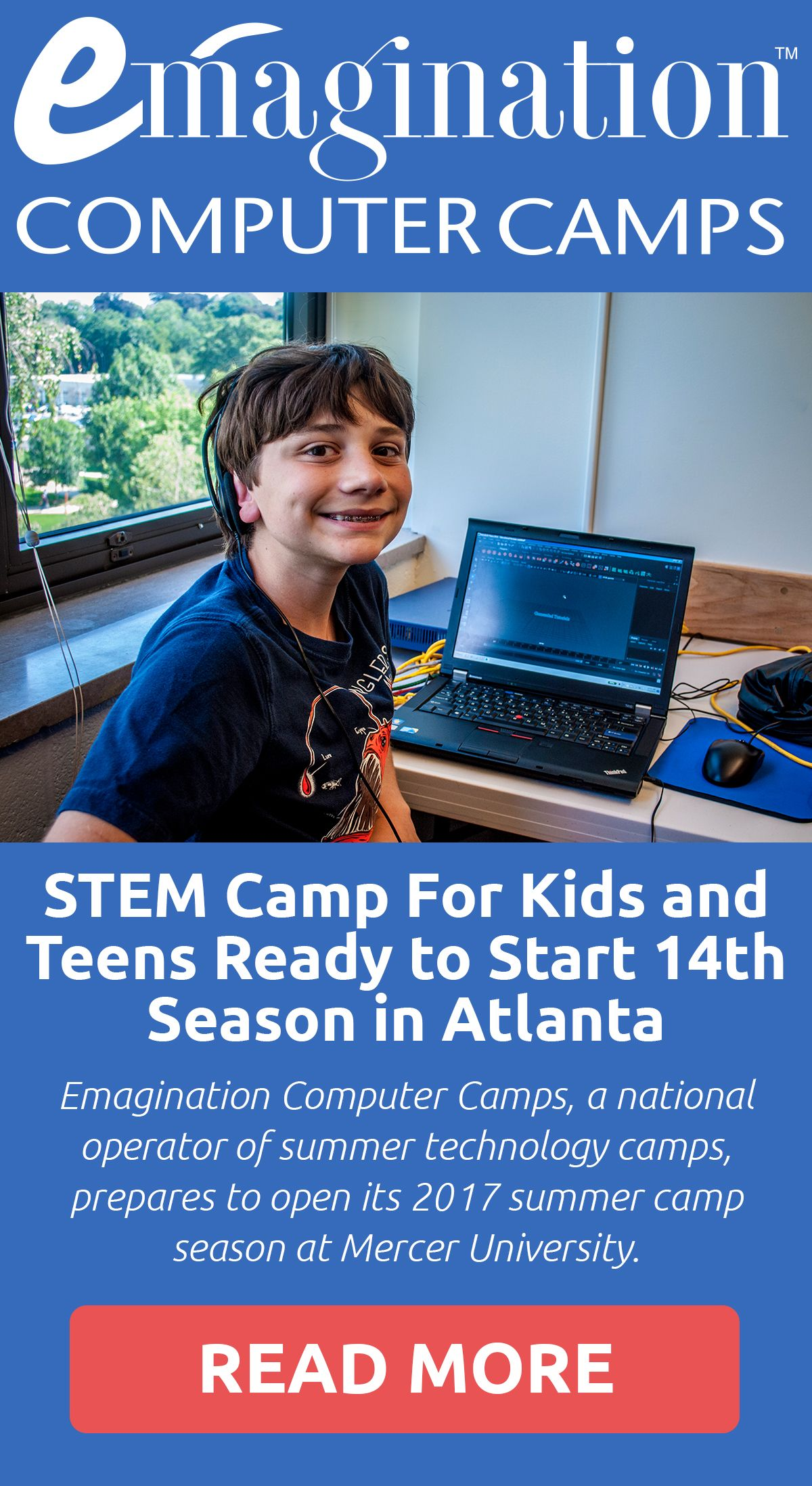 Emagination Computer Camps A National Operator Of Summer Technology Camps Prepares To Open Its 2017 Summer Camp Seaso Computer Camp Stem Camp Technology Camp