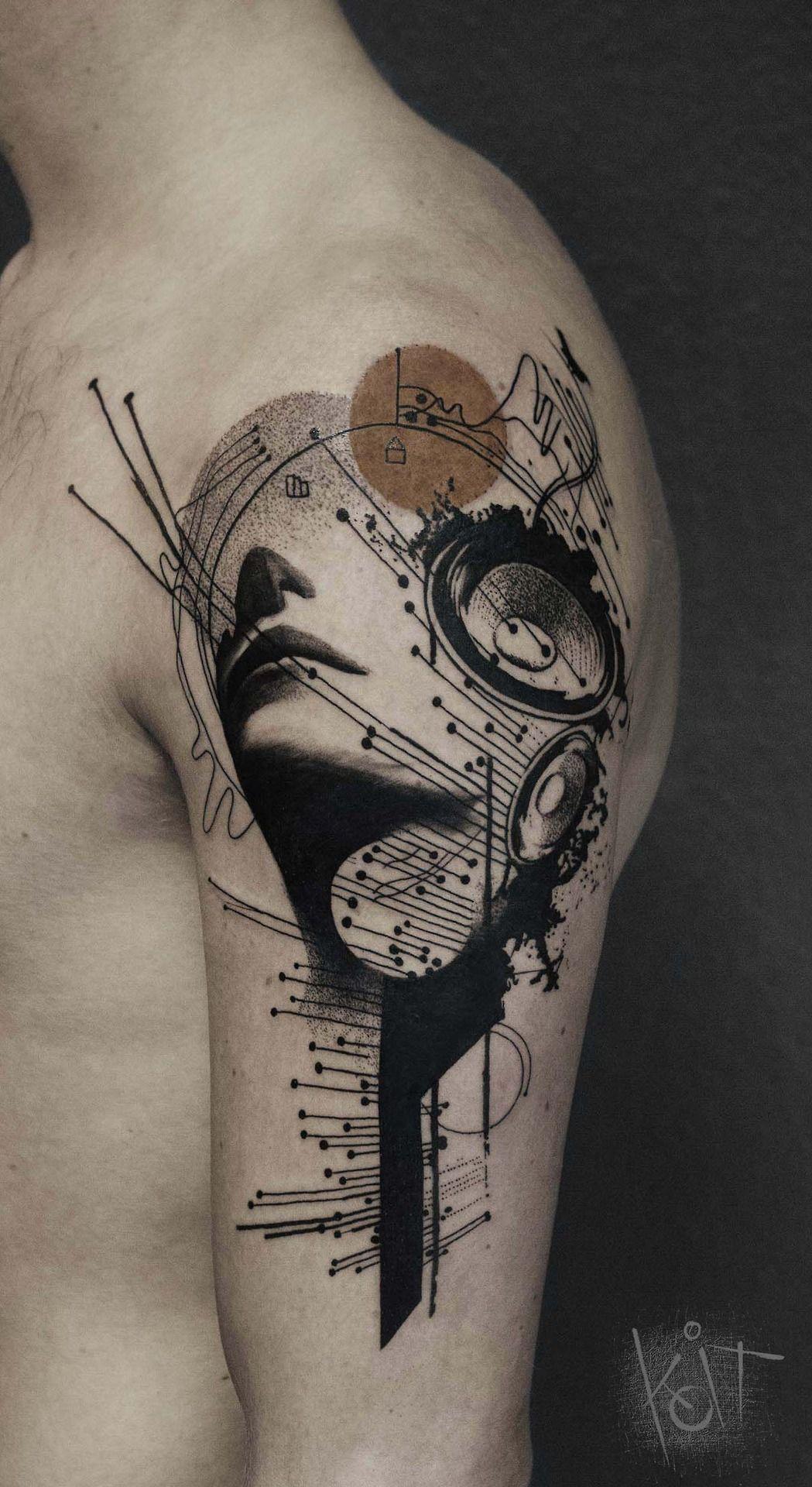 Abstract Tattoo Art