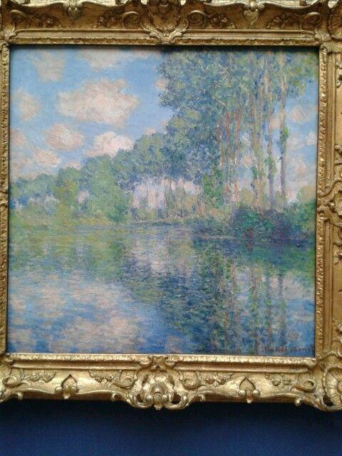 Monet - Poplars on the river Epte