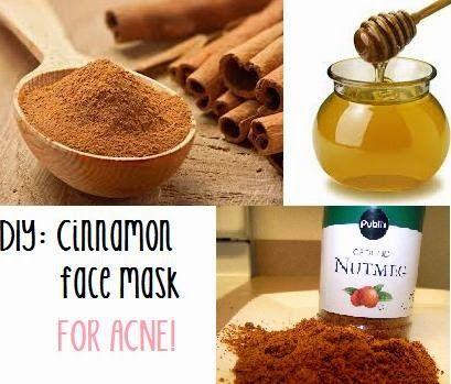 Younique by Kristen Morton: DIY: Cinnamon Face Mask for Acne!