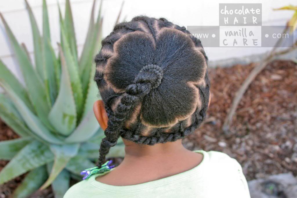 St. Patrick's Day Shamrock Hairstyle