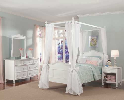 In Pink Girls Bed Canopy Girl Beds Bed