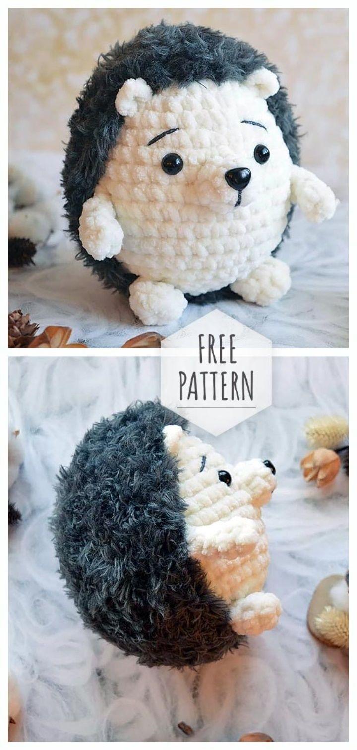 Amigurumi Hedgehog Free Pattern #freepattern