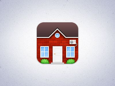 House App house ios icon | icons, app icon and mobile ui