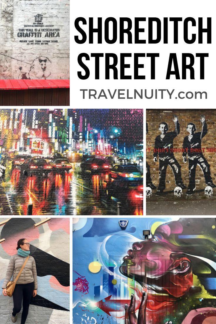 London Map Shoreditch Area: Shoreditch Street Art: Photo Essay