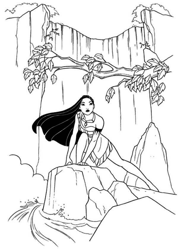 Pocahontas Coloring Pages Google Search Disney Princess