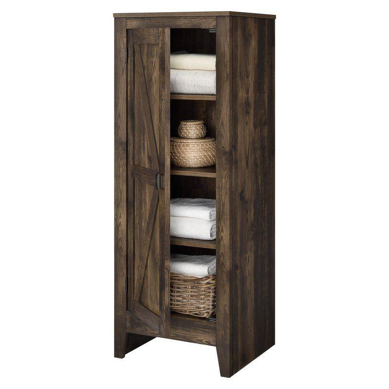 Buckhead 1 Door Accent Cabinet in 2018 bathroom storage