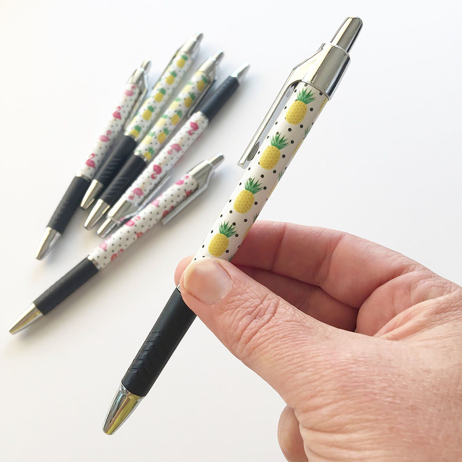 Baby Pineapple Pen Pens Flamingo Pineapple Stationery Pens Online