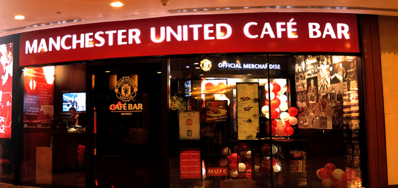 Manchester United Cafe Bar Hi Bengaluru Cafe Bar Manchester United Cafe