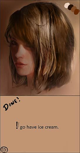 Cgsociety Tutorial How To Paint Realistic Hair Digital Painting Tutorials Digital Art Tutorial Acrylic Painting Tutorials